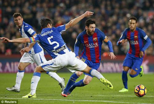Barcelona - Leganes: May mắn khỏa lấp sai lầm - 1