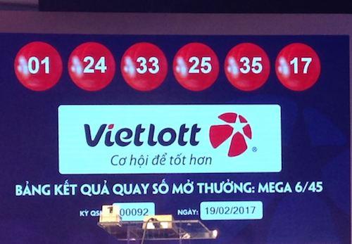 Vé trúng jackpot 42 tỉ được phát hành trước 9 ngày