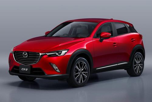 Mazda CX-3 2017 có giá từ 708 triệu đồng