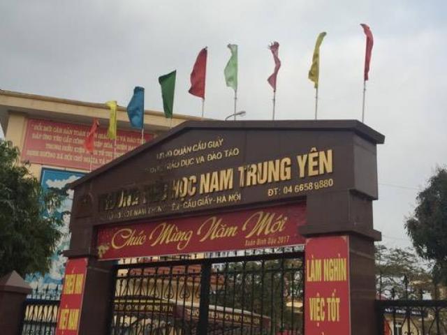 Vụ HS gãy chân: Chủ tịch HN yêu cầu cách chức hiệu trưởng