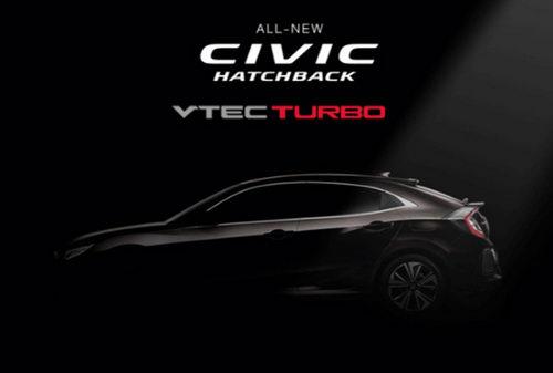 Honda Civic hatchback 2017 sắp ra mắt Đông Nam Á