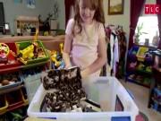 Phát hoảng với cô bé nuôi hàng nghìn con gián làm thú cưng