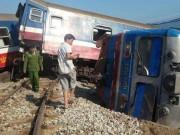 Xác định nguyên nhân vụ lật tàu hỏa 3 người chết ở Huế