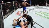 """UFC: Chơi """"võ say"""" bất thành, bị đấm """"tanh bành"""""""