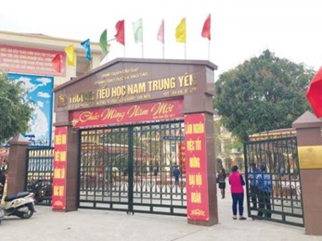 Tin mới vụ HS trường Nam Trung Yên gãy chân, hiệu trưởng mất chức - 2