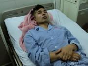 """Nổ xe ở Bắc Ninh:  """" Người tôi bị hất từ cuối xe lên đầu xe """""""