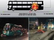[ĐỒ HỌA] Toàn cảnh vụ nổ xe khách kinh hoàng ở Bắc Ninh