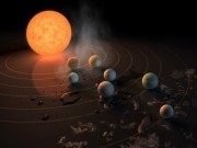 Tìm ra 7 hành tinh giống hệt Trái đất có thể chứa sự sống