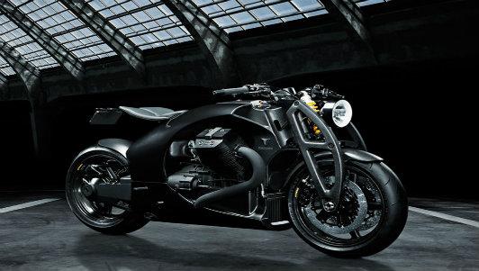 Phát thèm Moto Guzzi độ thân carbon