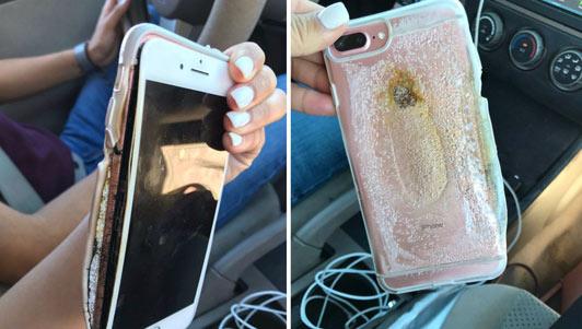 Video iPhone 7 Plus bị nổ, bốc khói nghi ngút