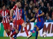 "Trước vòng 24 La Liga:  "" Sinh tử ""  Atletico - Barcelona"