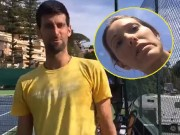 Thể thao - Djokovic lại có biến: Lộ video cãi vã trên sân tập