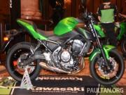 2017 Kawasaki Z650 ABS chốt giá 183 triệu đồng