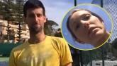 Djokovic lại có biến: Lộ video cãi vã trên sân tập