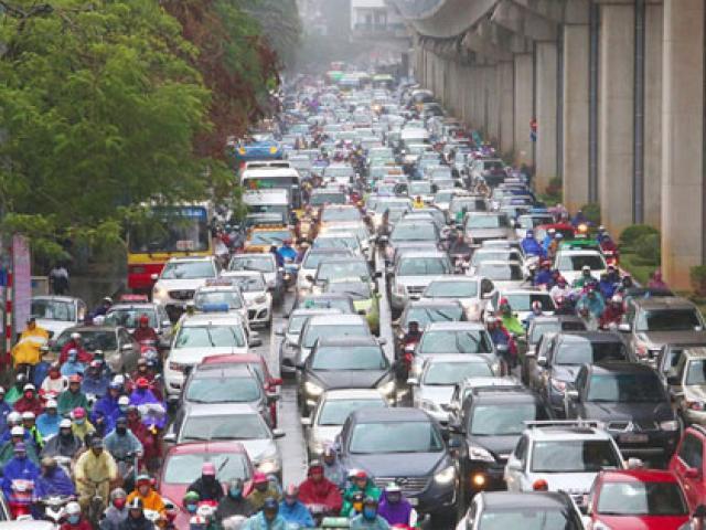 Giải thưởng 6,6 tỷ chống ùn tắc ở Hà Nội thuộc về ai?
