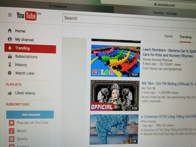 YouTube sẽ bị xử phạt tại Việt Nam?