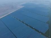 Trung Quốc xây trang trại điện mặt trời lớn nhất thế giới