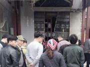 Nhà trưởng công an xã bị nổ tung cửa