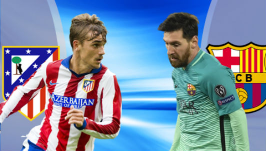 Chi tiết Atletico Madrid - Barcelona: Messi tỏa sáng (KT)