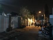 Cháy nhà, 4 người trong gia đình tử vong