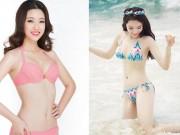 """"""" Đặt lên bàn cân """"  hoa hậu Việt mặc bikini sexy nhất"""
