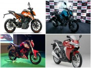Chọn 2017 KTM 250 Duke hay xe Benelli, Honda và Yamaha?