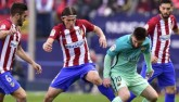 Atletico Madrid - Barcelona: Ngang tài ngang sức (Hiệp 1)
