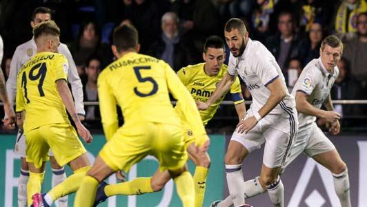 Villarreal - Real Madrid: Ngược dòng kịch tính