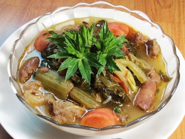 Cách nấu bò kho dưa chua tuyệt ngon ngày lạnh