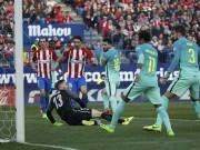 "Barca: 22 bàn/22 trận, Messi lại  "" gieo sầu ""  Atletico"