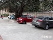 Giáo dục - du học - Tiểu học Khương Đình lên tiếng vụ xe ô tô vào trường gây nguy hiểm cho học sinh