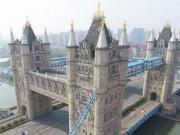 Thế giới - Thành phố TQ làm nhái y hệt cầu cảng nổi tiếng tại Anh