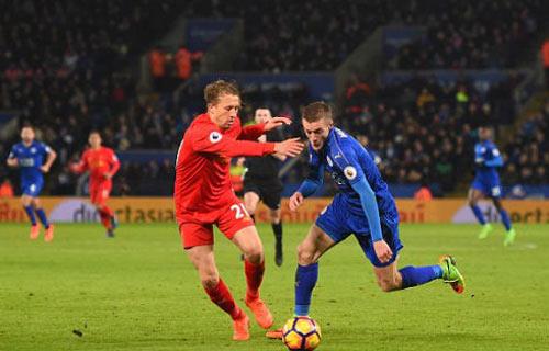 Leicester - Liverpool: 3 bàn nhanh chóng