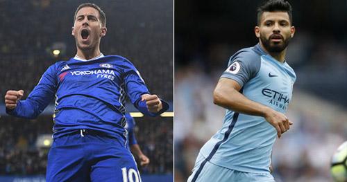 Chuyển nhượng Real: 160 triệu bảng mua Hazard & Aguero - 1