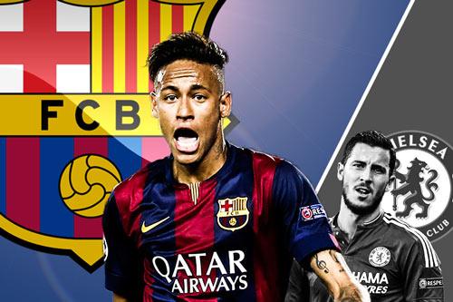 """Cầu thủ bị """"chém"""" nhiều nhất châu Âu: Neymar số 1"""