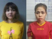Hai nữ nghi phạm vụ Kim Jong-nam có bị nhiễm chất độc?
