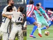 Bóng đá - Đua Liga: Barca đứng bằng đôi chân Messi, Real đi trên dây