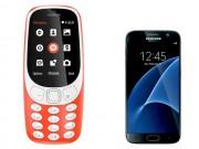 """Dế sắp ra lò - """"Choáng"""" Nokia 3310 mới chụp ảnh đẹp hơn Samsung Galaxy S7"""
