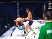 """Thể thao - MMA: Ăn 1 đòn """"vô ảnh cước"""", hết đường về"""