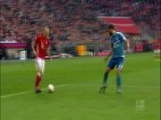 """Bóng đá - Bàn thắng đẹp V22 Bundesliga: Robben, Aubameyang """"đọ súng"""""""