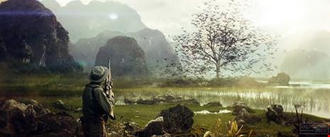 Mãn nhãn hình ảnh vn trên phim kong skull land - 6