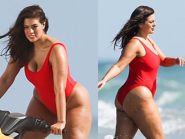 Cô béo đẹp nhất Hollywood khoe nội y ngày càng lộ liễu - 15