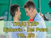 Chi tiết Djokovic - Del Potro: Ván 10 quyết định (KT)