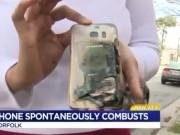 Dế sắp ra lò - NÓNG: Samsung Galaxy S7 tiếp tục phát nổ