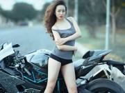 Xe máy - Xe đạp - Những hotgirl ô tô - xe máy đình đám năm qua