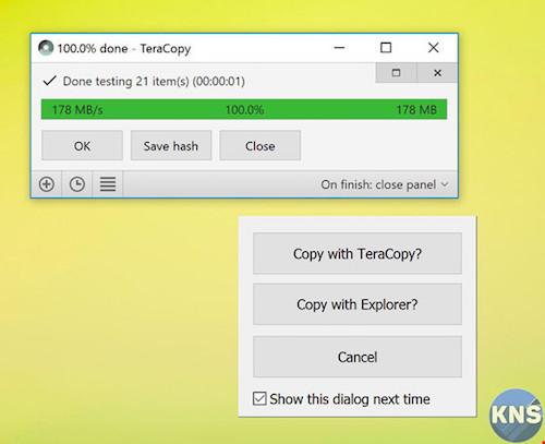 Thủ thuật sao chép tập tin cực nhanh trên Windows