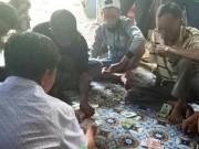 Phạt 7 người đánh bạc, phát trực tiếp lên facebook