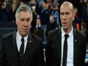 """Bóng đá - Real - Zidane """"mất lái"""": Cẩn thận vết xe đổ Ancelotti"""