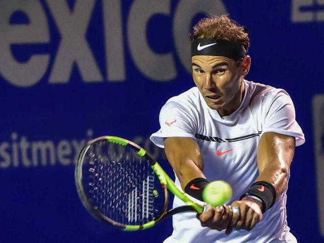 Nadal - Cilic: Hạ gục nhanh, tiêu diệt gọn (BK Acapulco)