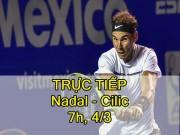Chi tiết Nadal - Cilic: Không thể cưỡng lại (KT)